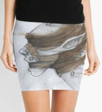 Steampunk Mummy Mini Skirt