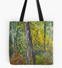 &&&  When an early autumn walks   ####  and touches with her hand the summer trees. View (9) Thx! Tote Bag