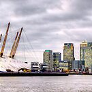Millennium Dome Panorama II by Lea Valley Photographic