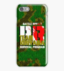 Team Kiriyama (Battle Royale) iPhone Case/Skin