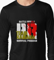 Team Kawada (Battle Royale) Long Sleeve T-Shirt
