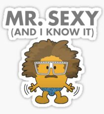 Mr. Sexy Sticker