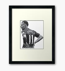The Welsh Wizard Ryan Giggs Framed Print