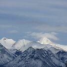 Winter mountain by dsimon