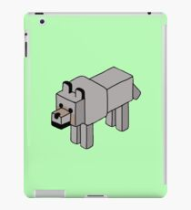 Minecraft Wolf Design iPad Case/Skin