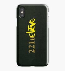 221BELIEVE iPhone Case