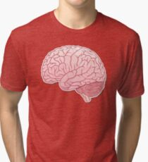 pinky brain Tri-blend T-Shirt