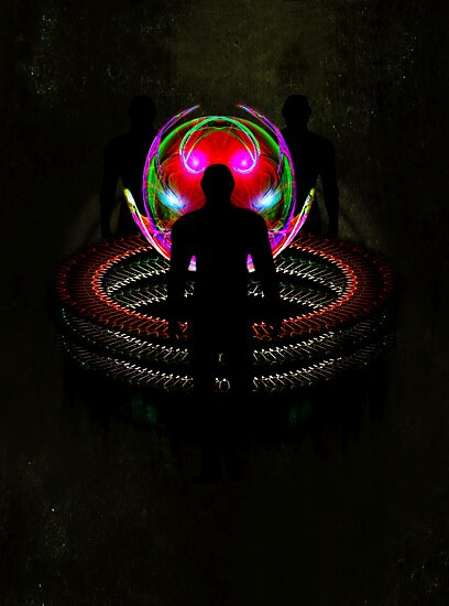 In the sphere - The meeting point by Ronny Falkenstein - 2