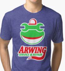 ARWING SERVICE & REPAIR Tri-blend T-Shirt