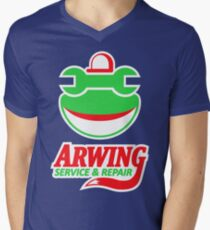 ARWING SERVICE & REPAIR Men's V-Neck T-Shirt