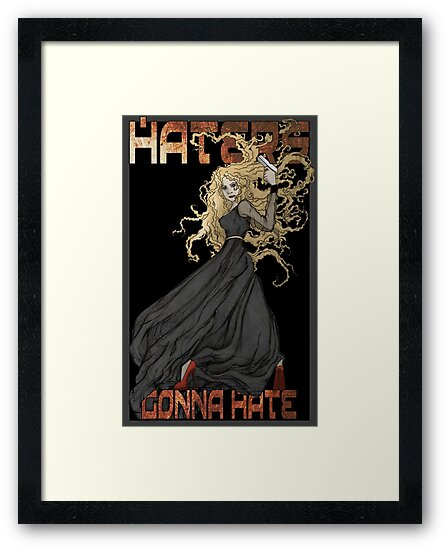 River Song: Haters Gonna Hate by Barbora  Urbankova