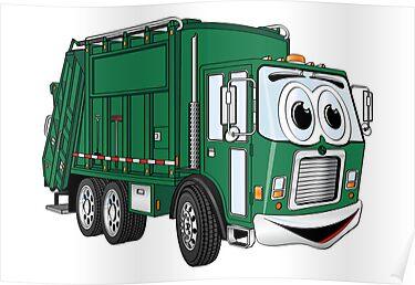 garbage truck cartoon - photo #3