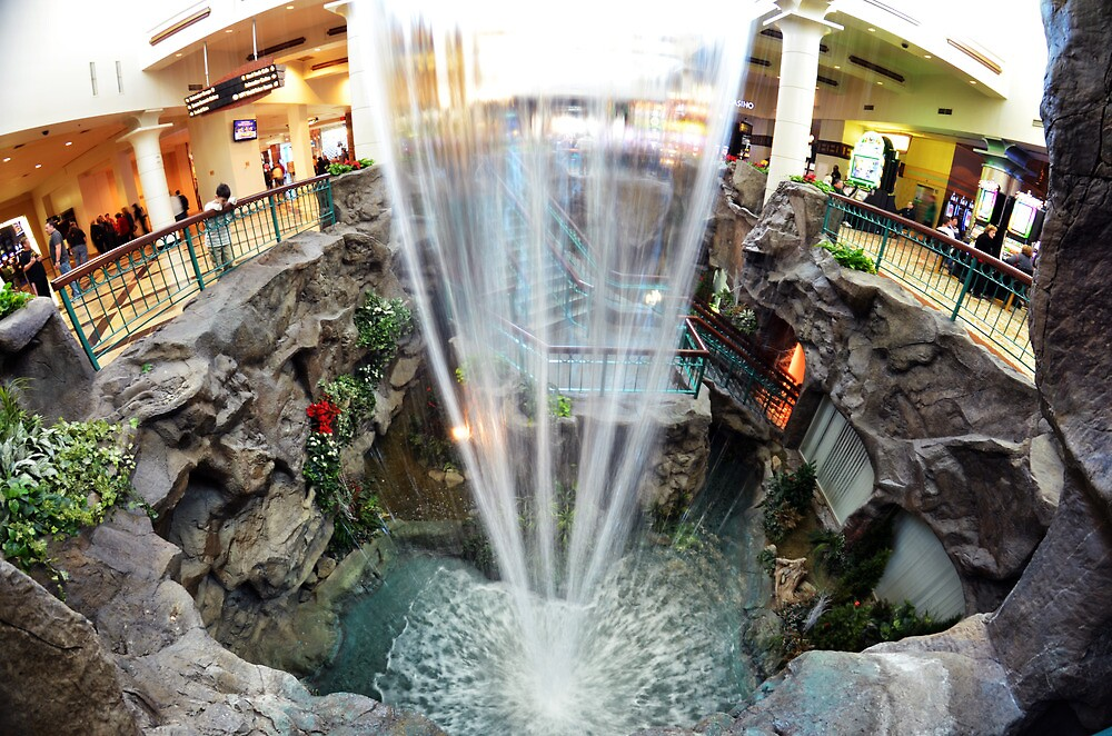 Indoor Waterfall By Copiouspics