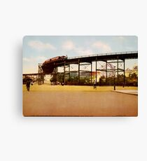 Lienzo Elevated Train at 110th Street NYC Photo-Print