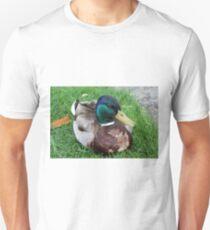 duck on grass T-Shirt