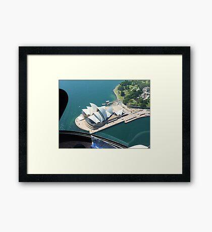 Opera House SYDNEY HABOUR Framed Print