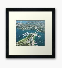 The Spit Bridge Sydney Framed Print