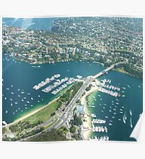 The Spit Bridge Sydney Poster