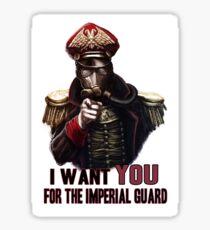 Warhammer Imperial Guard Sticker