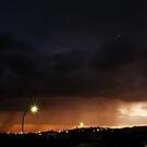 Street Lights and Rain by Richard Owen