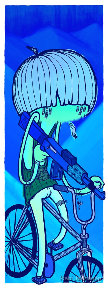 Irony of the blues by Kabi Jedhagen