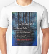 Blue Ice Breaking Bad Unisex T-Shirt