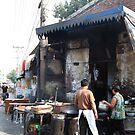 Beijing 2006 - Preparing breakfast by Marjolein Katsma