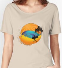 Summers surf Women's Relaxed Fit T-Shirt