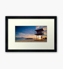 Maunt Maunganui Dawn Watch Framed Print