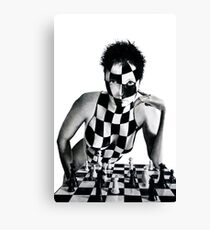 Checkmate in 2 Queen Sacrifice Canvas Print