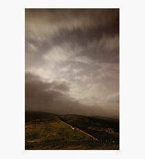 Towards Burnt Hill from Chunal 3 Photographic Print