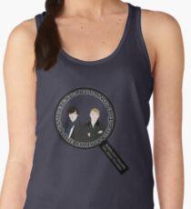 Sherlock & John Microscope Women's Tank Top