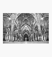 Cloisters-Glasgow University Photographic Print