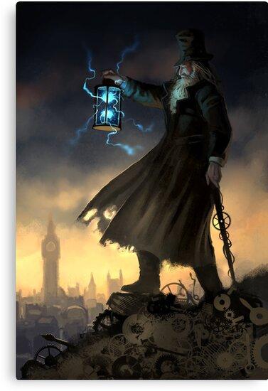 Steampunk Hermit by Barbara Moore