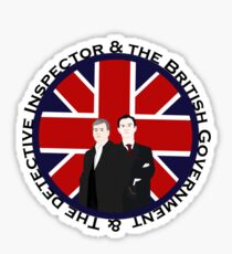 The British Government & The Detective Inspector Sticker