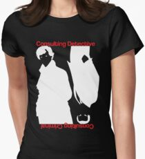 Consulting Detective, Consulting Criminal Women's Fitted T-Shirt