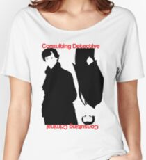 Consulting Detective, Consulting Criminal #2 Women's Relaxed Fit T-Shirt