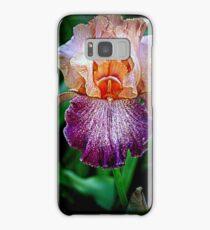 Vibrant Iris Flower Samsung Galaxy Case/Skin