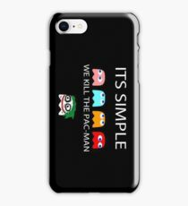 Kill the packman iPhone Case/Skin