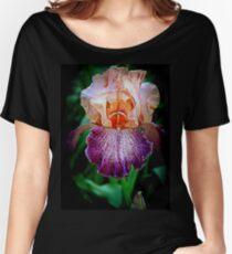 Vibrant Iris Flower Women's Relaxed Fit T-Shirt