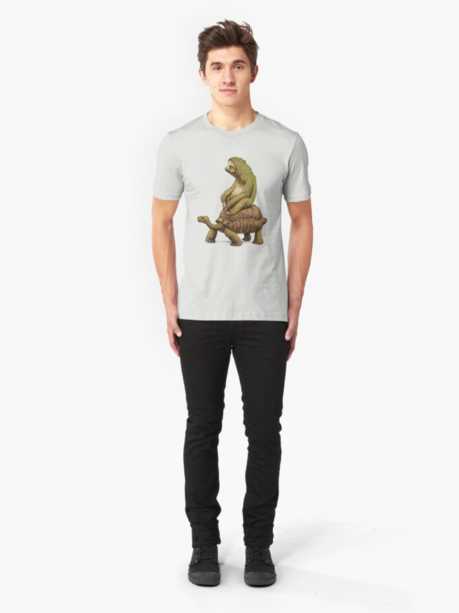 Alternate view of Speed is Relative Slim Fit T-Shirt