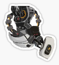 Pixel GLaDOS   Sticker