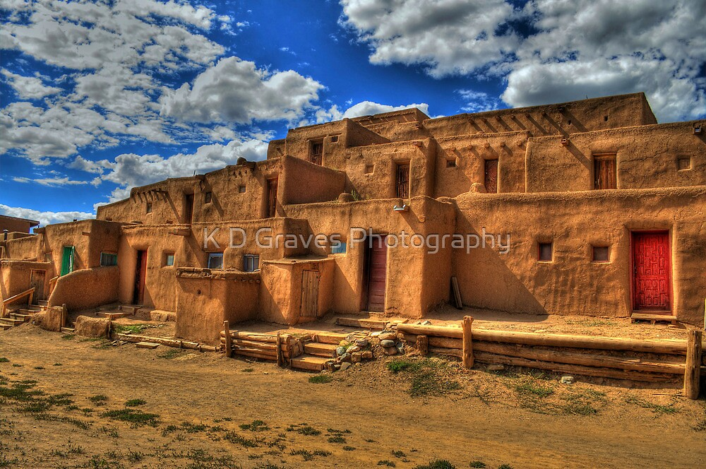 Sacred Village by K D Graves Photography