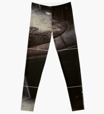 Plymouth Old Car Style Leggings