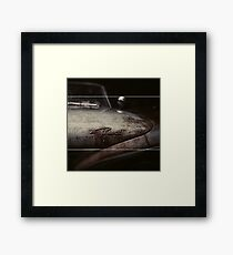 Plymouth Old Car Style Framed Print
