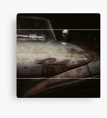 Plymouth Old Car Style Canvas Print
