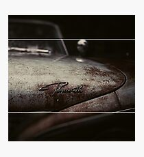 Plymouth Old Car Style Photographic Print