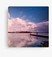 A Place for Reflection - Canada Bay, NSW Canvas Print