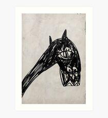 Horsey 1 Art Print