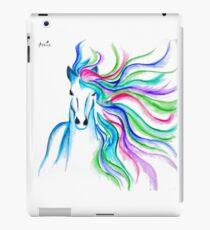 Unicorn Pen and Ink drawing iPad Case/Skin